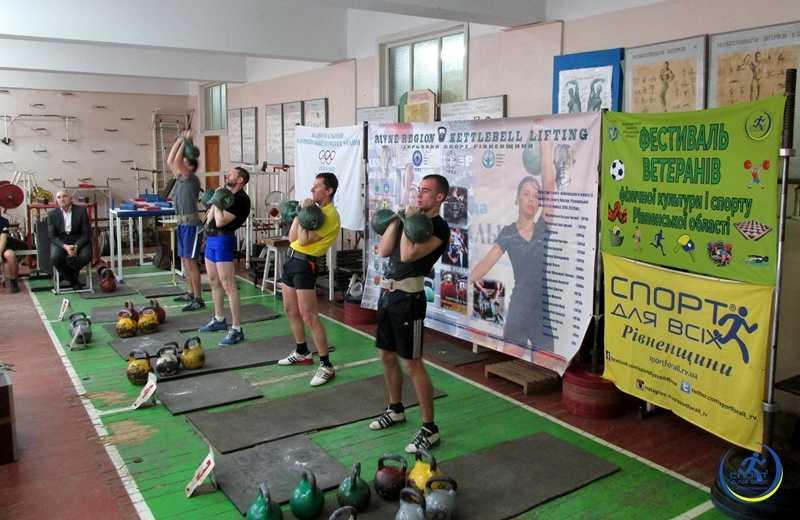 На Рівненщині ветерани-гирьовики змагалися на відкритому чемпіонаті області (ФОТО), фото-1