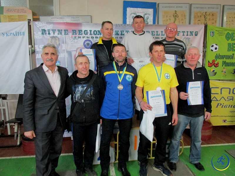 На Рівненщині ветерани-гирьовики змагалися на відкритому чемпіонаті області (ФОТО), фото-2